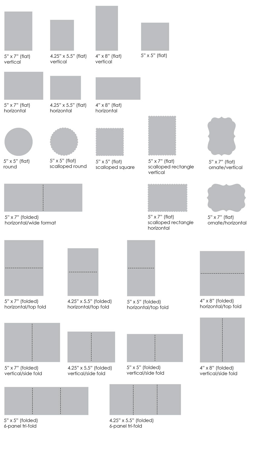 Card Layout Options Muddy Paws Graphics